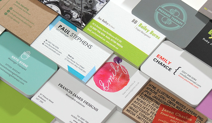 How to create business card designs that show personal